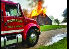 Hawarden Fire conducted a controlled burn on Aug. 21. Submitted by Duane Schiefen.