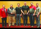 Honored as the IFA Department of Year at the Mid-Year meeting on March 24 was the Story City Fire Department.